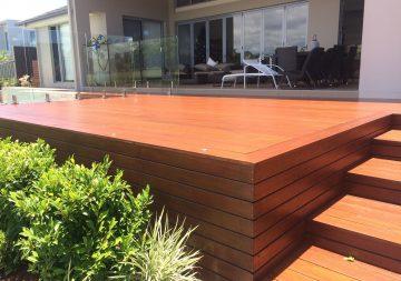Painting Services | Kangaroo Island | Nice Deck By Pool N